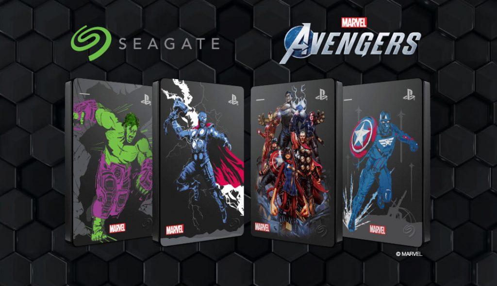 Dyski Seagate w limitowanej edycji Marvel Avengers