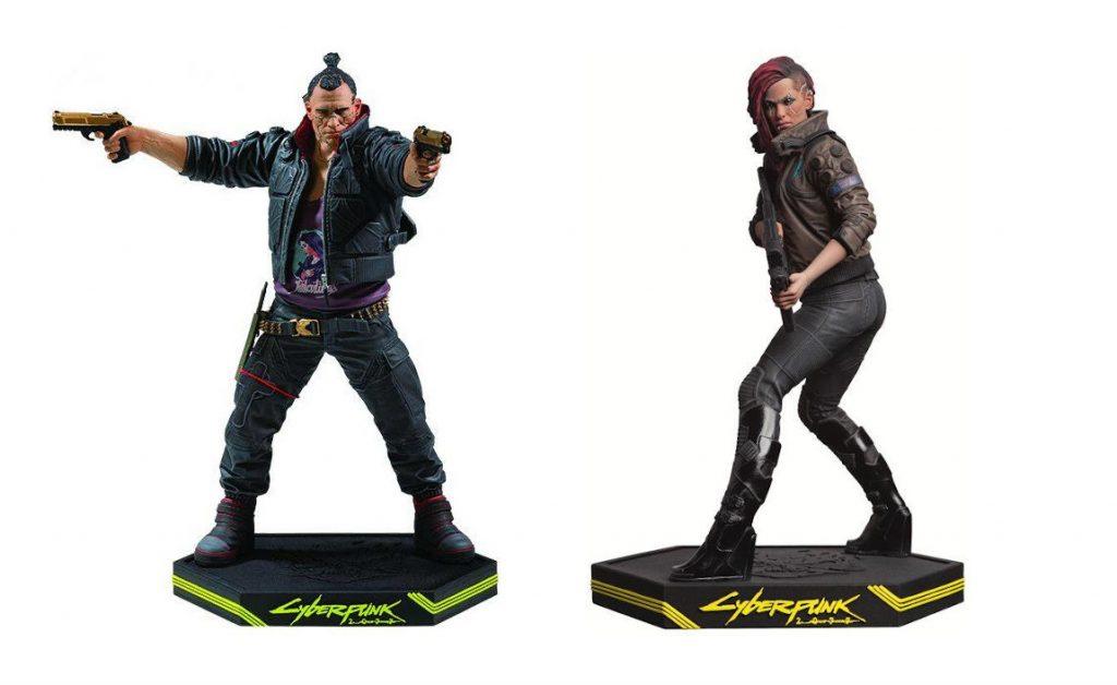 Figurki Jackie Welles i Female V z Cyberpunk 2077
