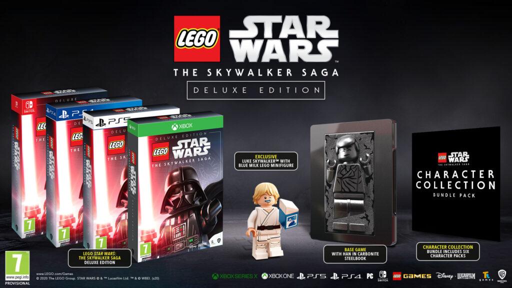 Lego Gwiezdne Wojny: Saga Skywalkerów Deluxe Edition