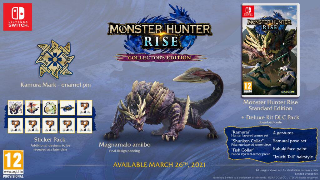 Monster Hunter Rise Edycja Kolekcjonerska