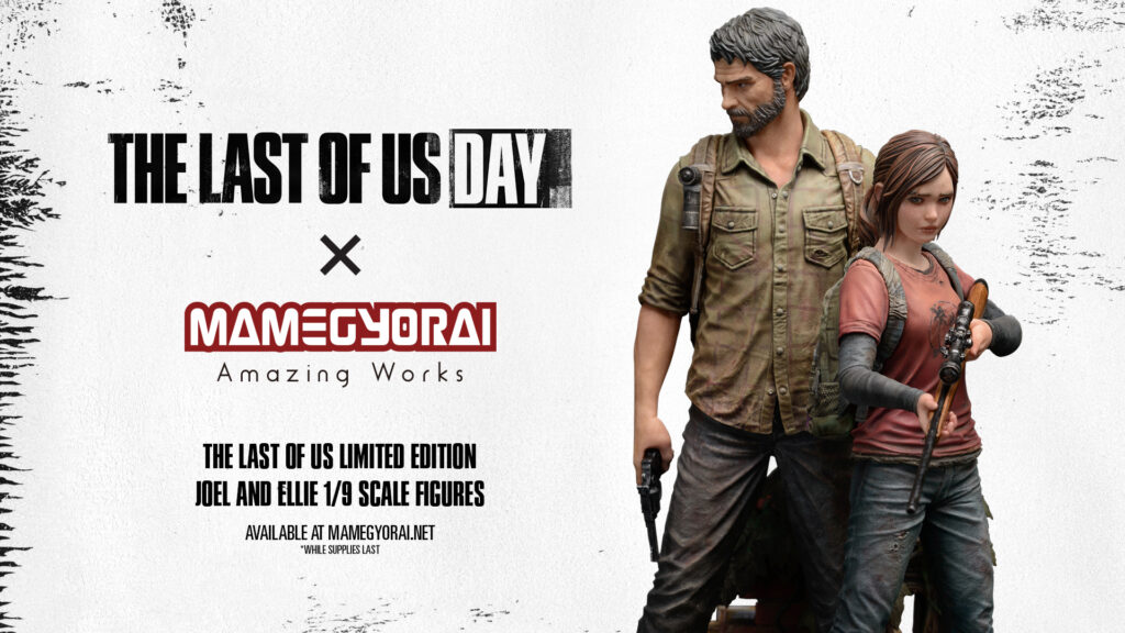 The Last Of Us - figurki Joela i Ellie od Mamegyorai