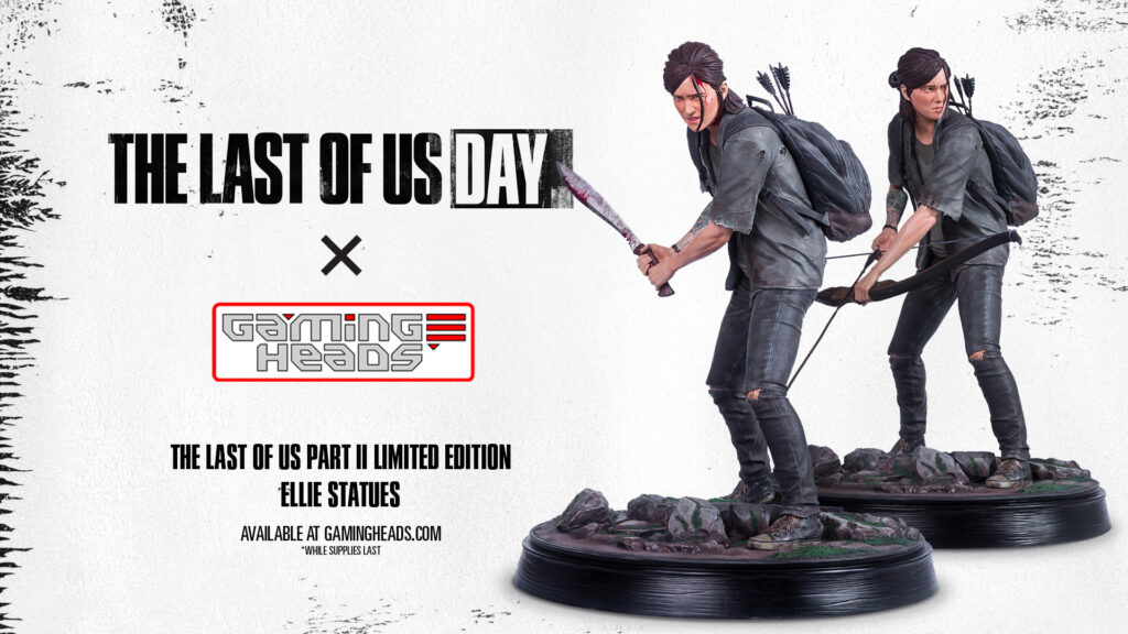 The Last Of Us Part II - limitowane figurki Ellie od Gaming Heads