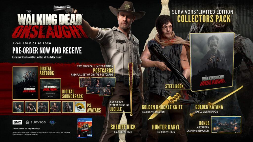The Walking Dead Onslaught Survivor Edition