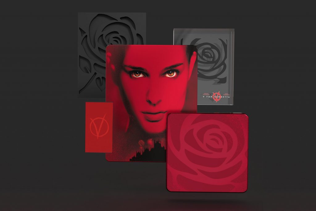 Titans of Cult V jak Vendetta Steelbook 4K UHD