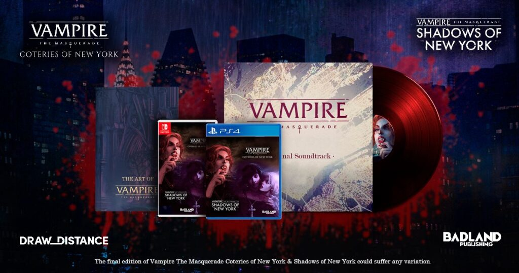 Vampire: The Masquerade Collector's Edition