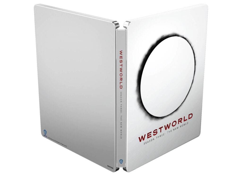 Westworld 3 sezon Steelbook 4K