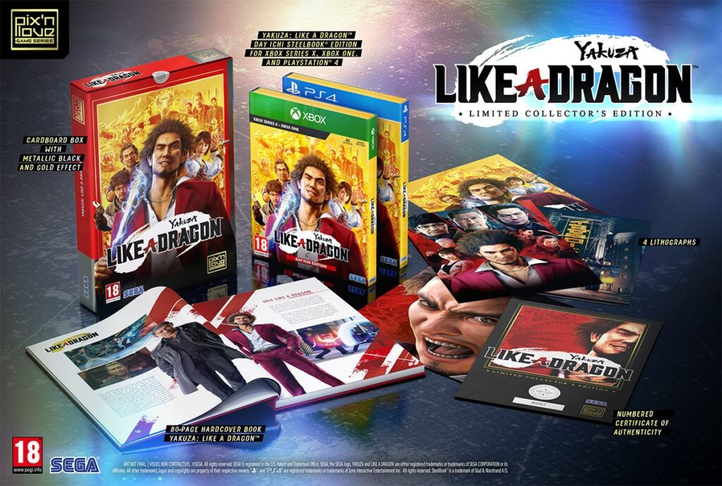 Yakuza: Like a Dragon Limited Collector's Edition