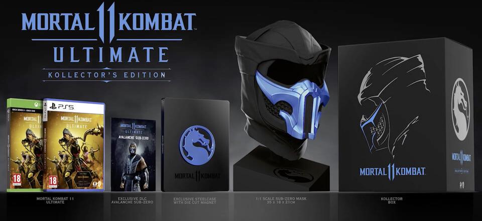 Mortal Kombat 11 Ultimate Kollektor's Edition - zawartość
