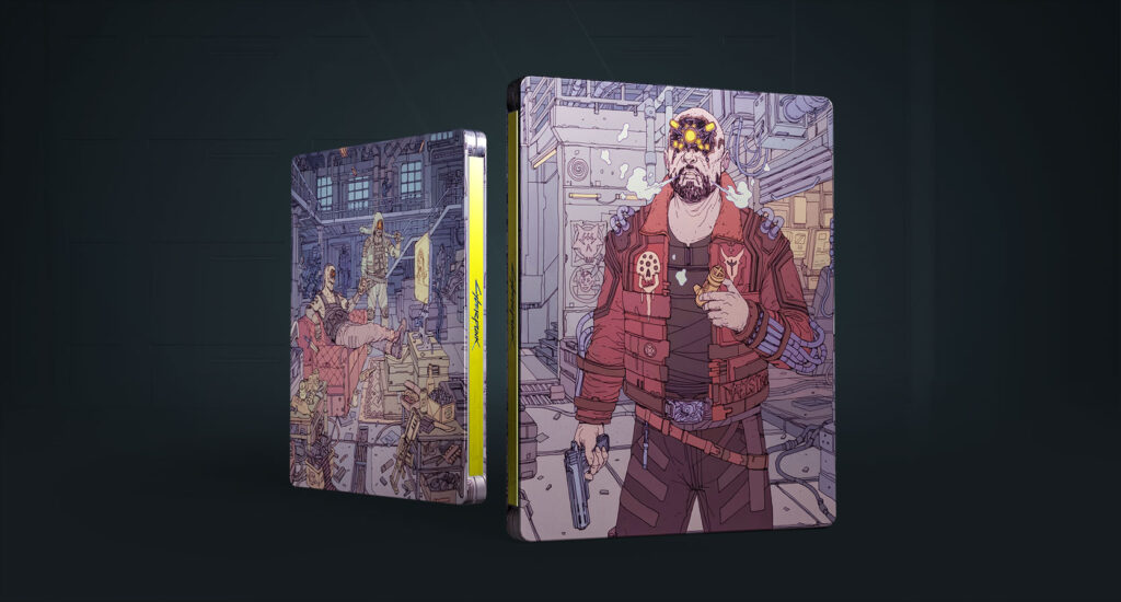 Cyberpunk 2077 Steelbook Maelstorm