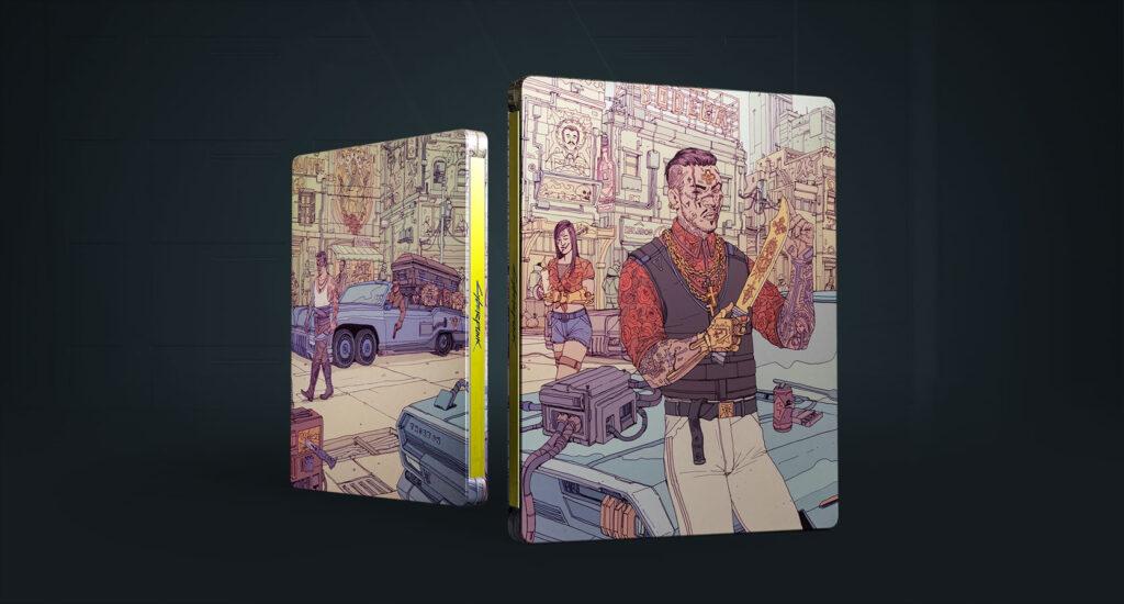 Cyberpunk 2077 Steelbook Valentinos