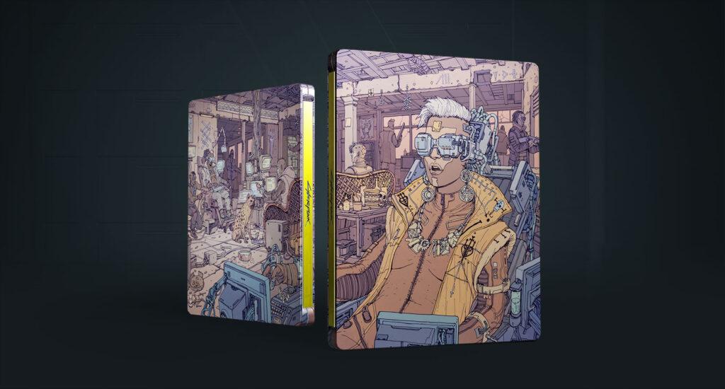 Cyberpunk 2077 Steelbook Voodo