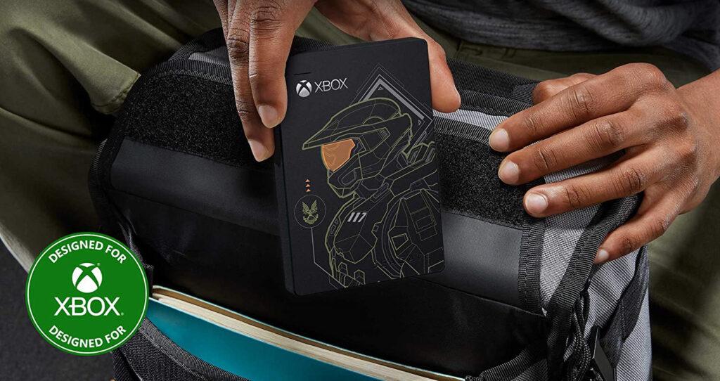 Dyski Seagate Game Drive w limitowanej edycji Halo: Master Chief