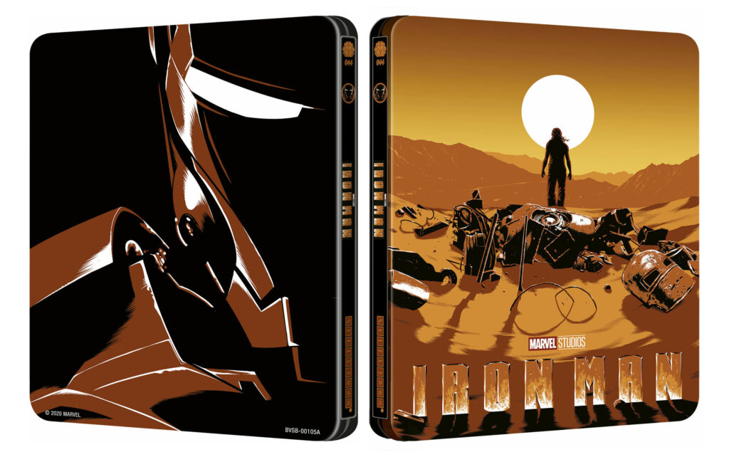Iron Man 4K Steelbook Mondo