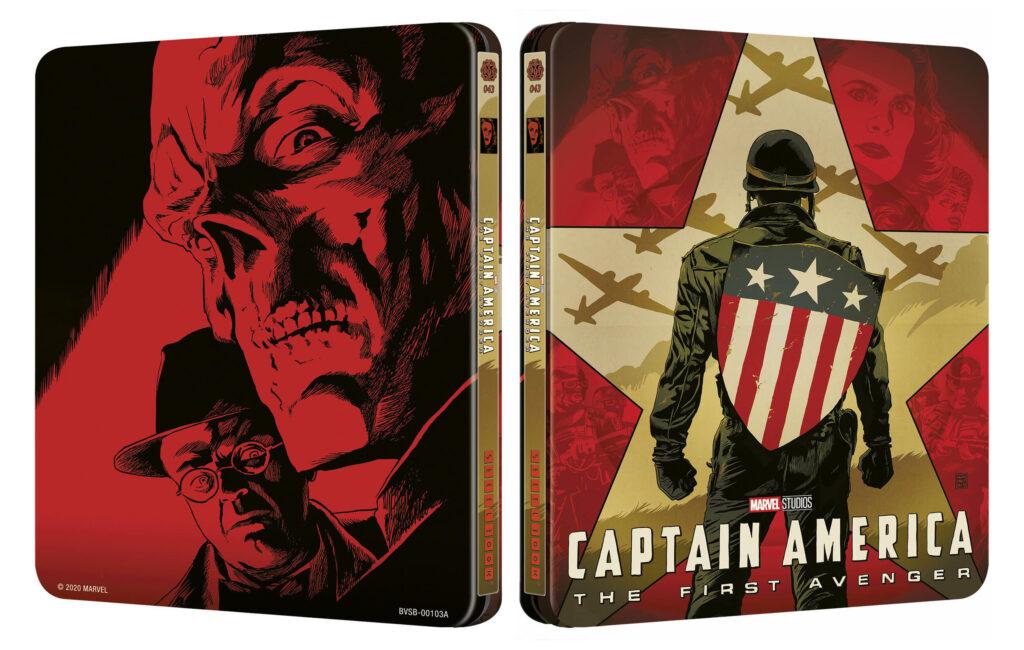 Kapitan Ameryka: Pierwsze starcie 4K Mondo #43 Steelbook