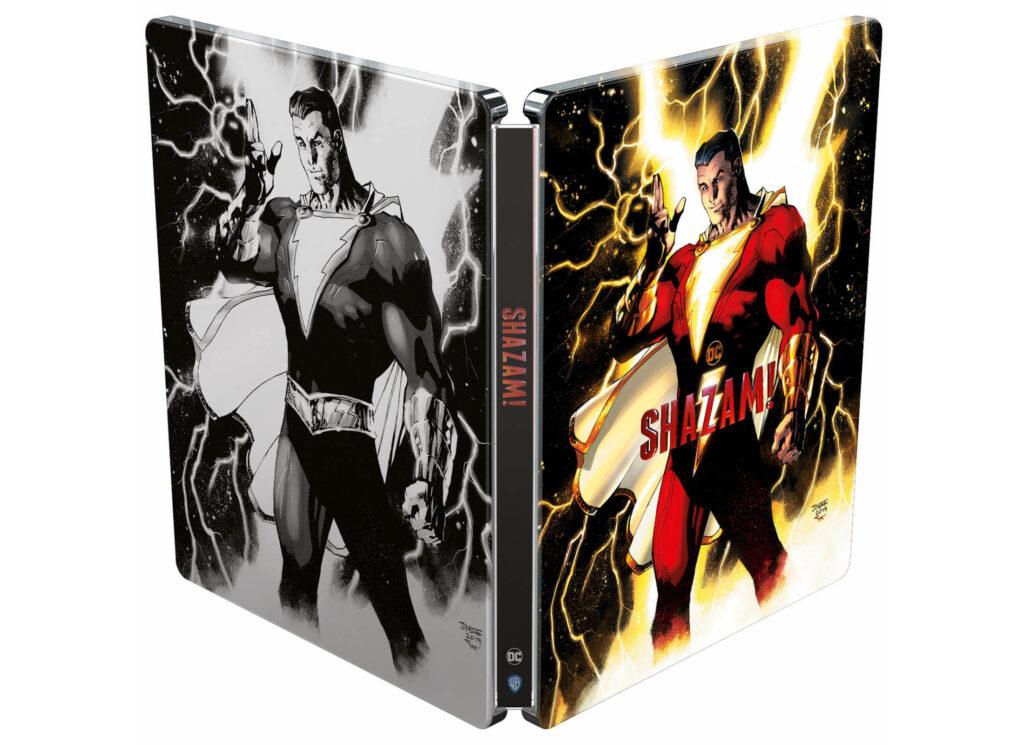 Shazam! 4K Steelbook