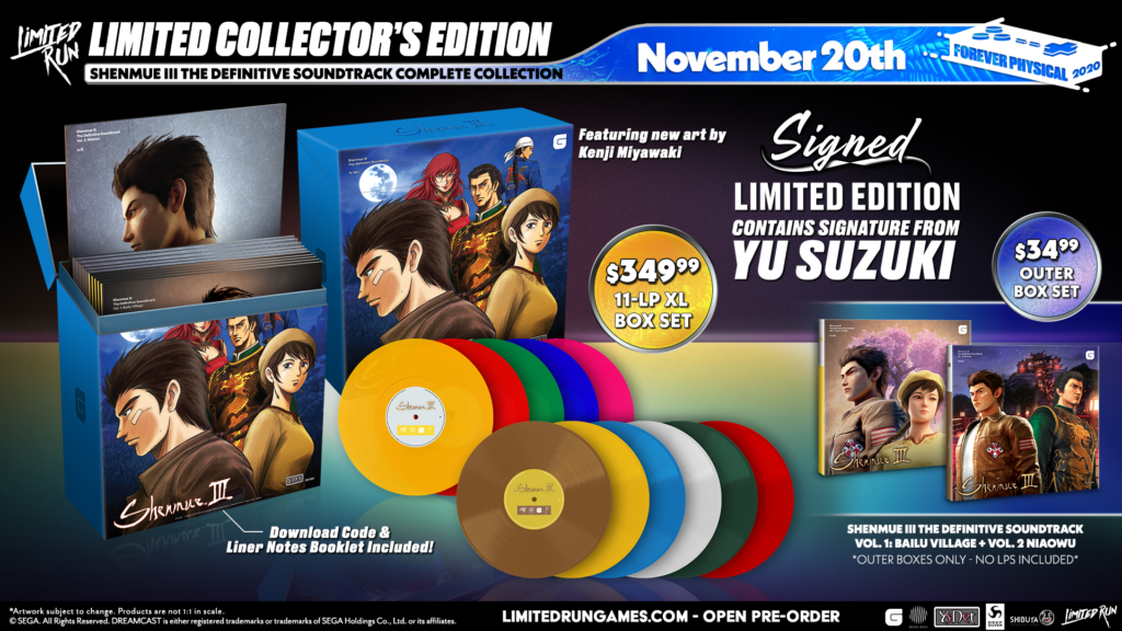 Shenmue III The Definitive Soundtrack Complete Collection