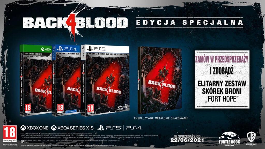 Back 4 Blood Edycja Specjalna