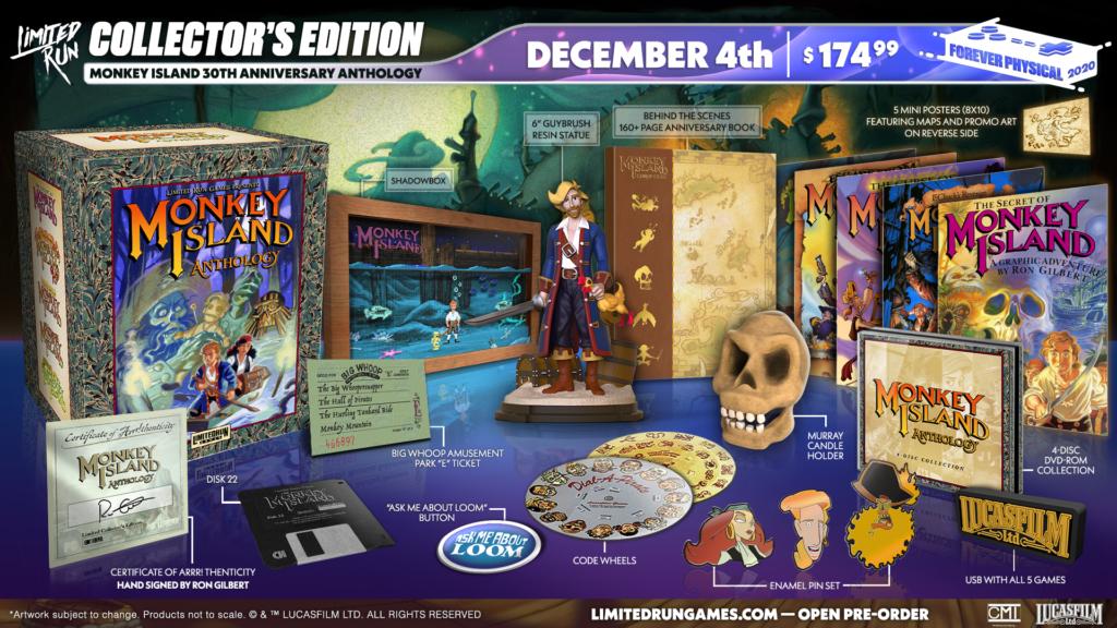 Monkey Island 30th Anniversary Anthology