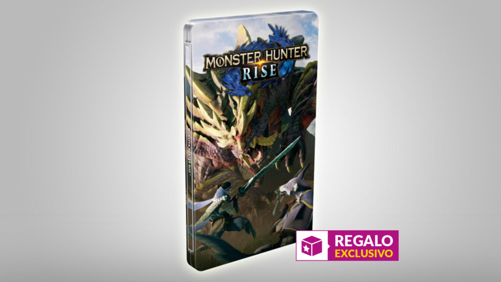 Monster Hunter Rise Steelbook