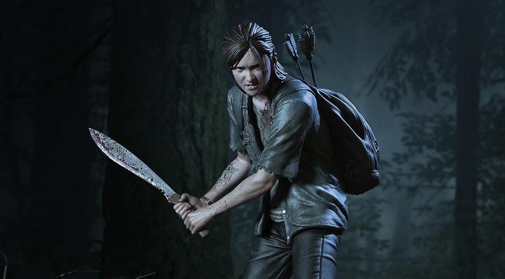 Figurka The Last of Us Part II Ellie z maczetą