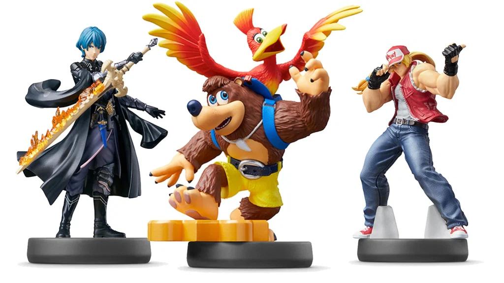 Amiibo Super Smash Bros. Banjo-Kazooie, Byleth i Terry Bogard