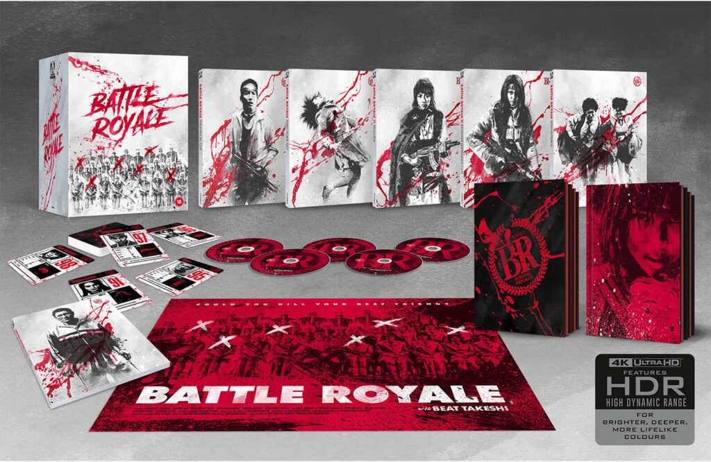 Battle Royale 4K Edycja limitowana