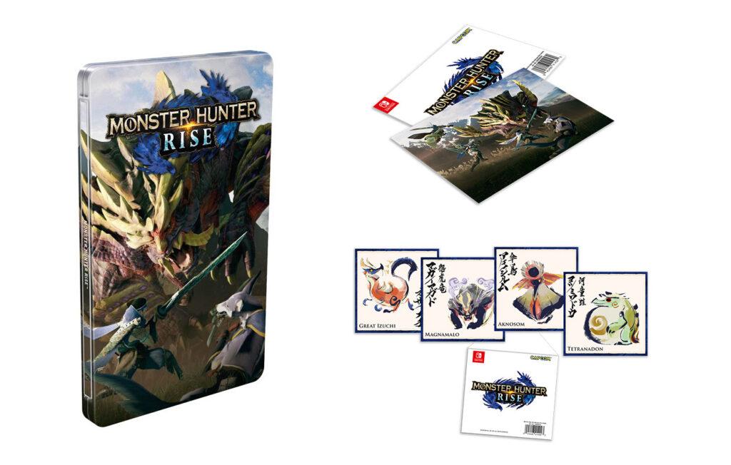 Monster Hunter Rise Steelbook