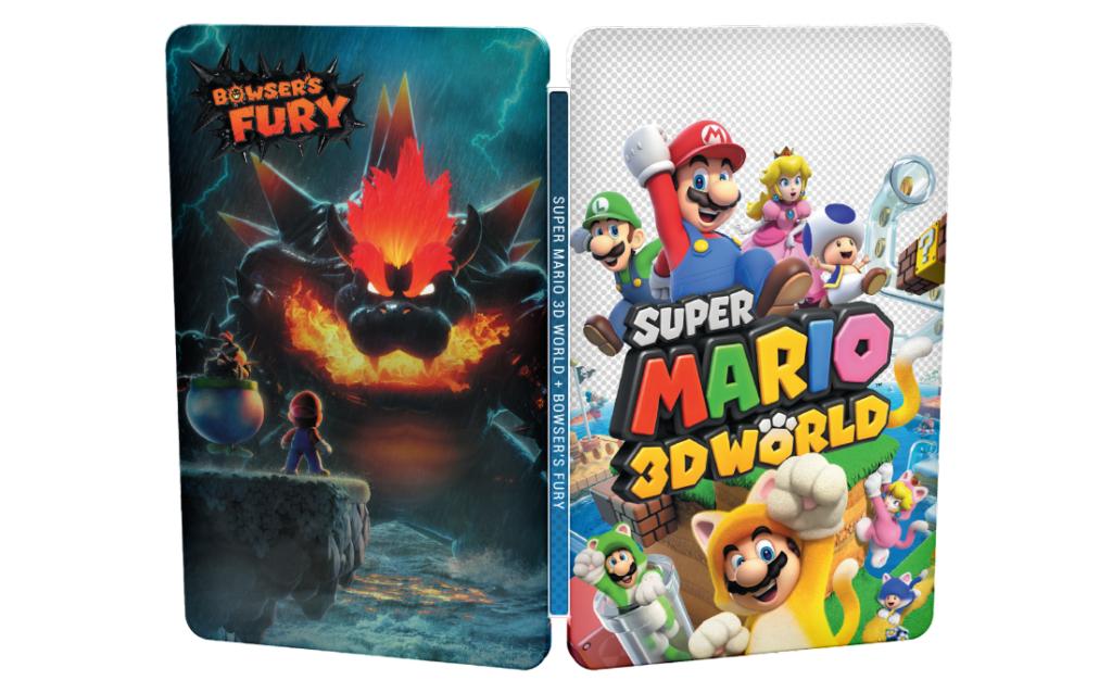 Super Mario 3D World + Bowser's Fury Steelbook