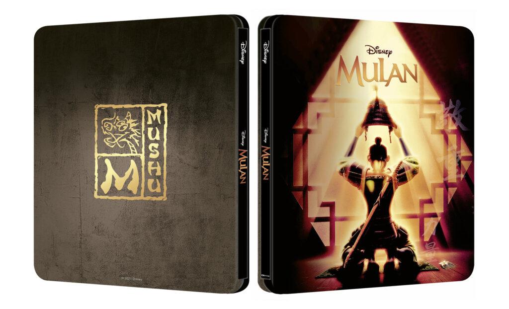 Mulan 4K Steelbook