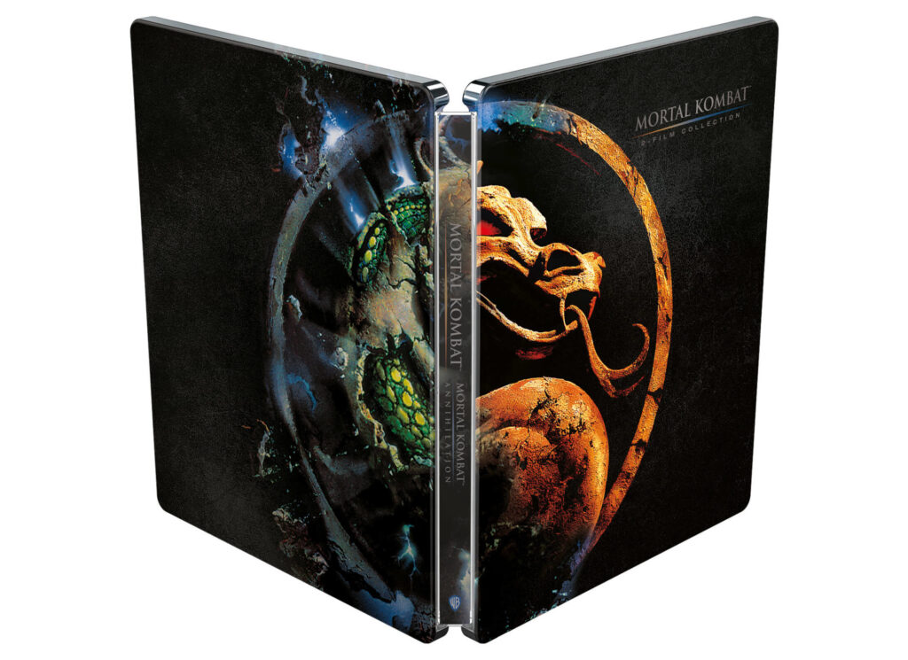 Mortal Kombat Collection Steelbook