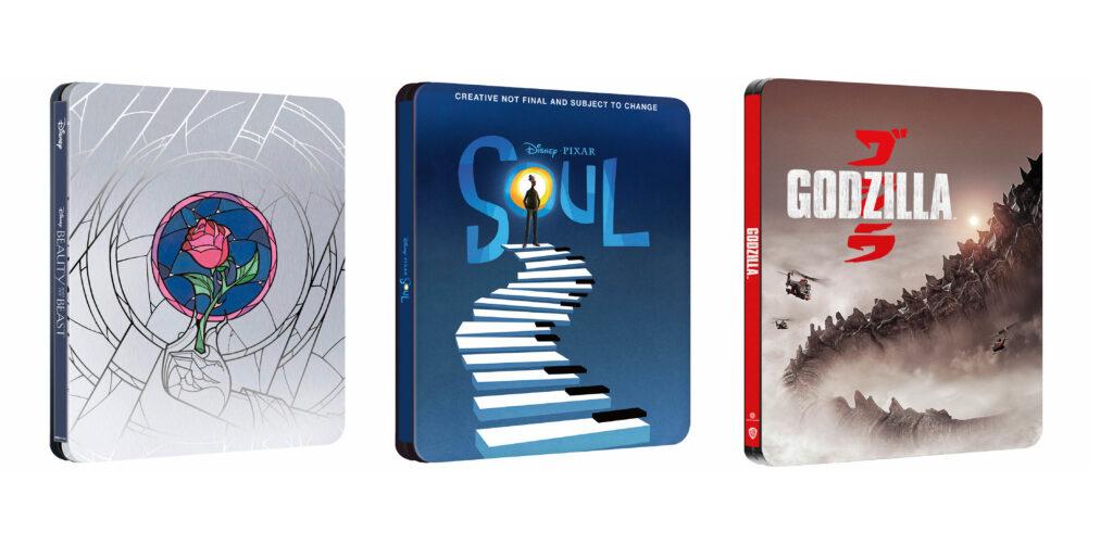 Steelbooki z Piękna i Bestia, Co w duszy gra i Godzilla w 4K