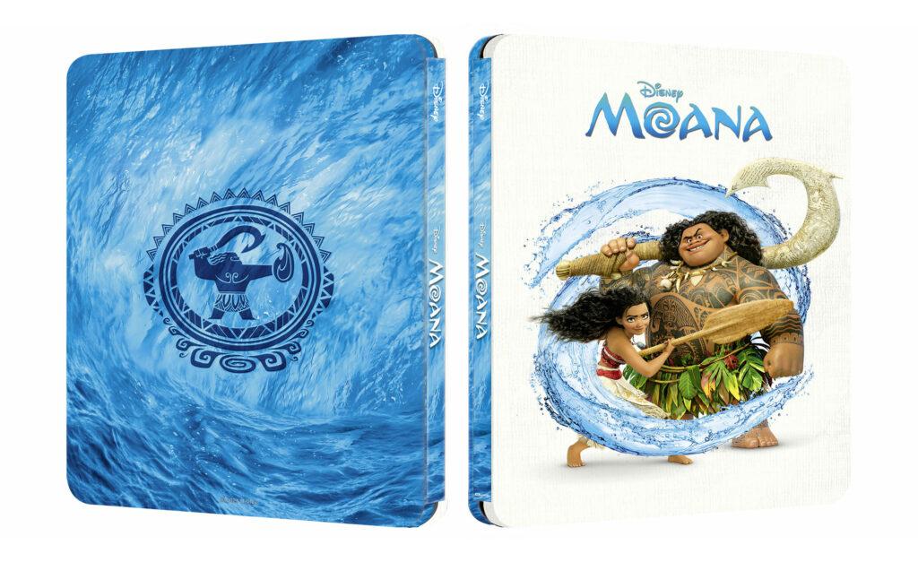 Vaiana: Skarb oceanu 4K Steelbook
