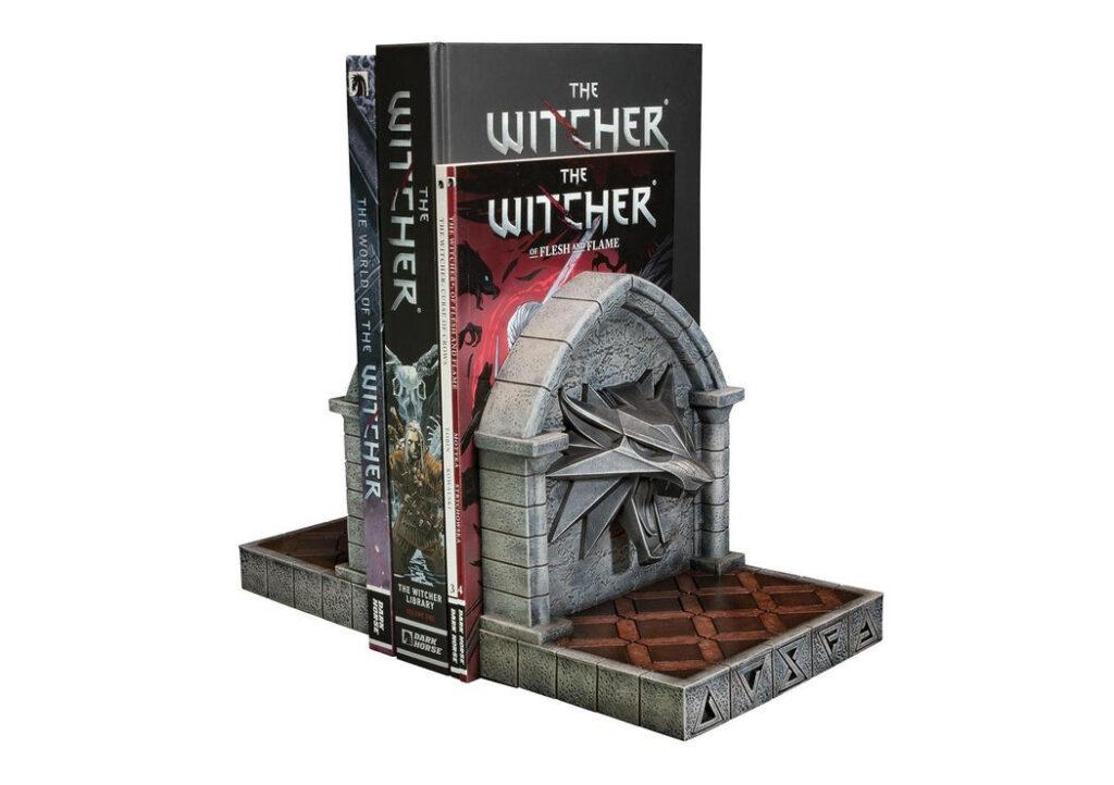 Wiedźmina 3 - Podpórki pod książki od Dark Horse