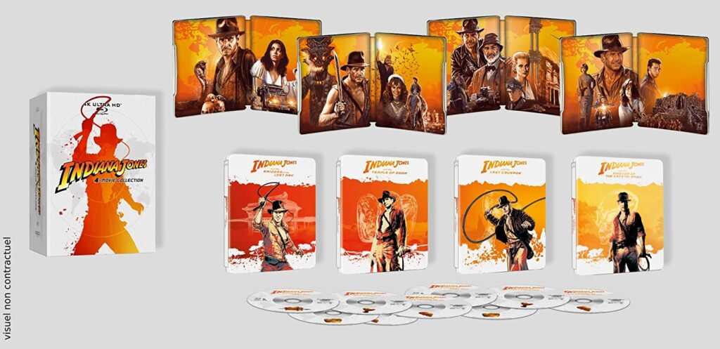 Indiana Jones 4K Steelbook Collection