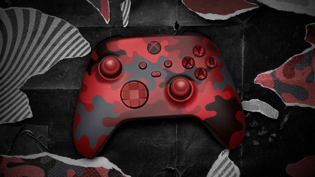 Kontroler Xbox Daystrike Camo