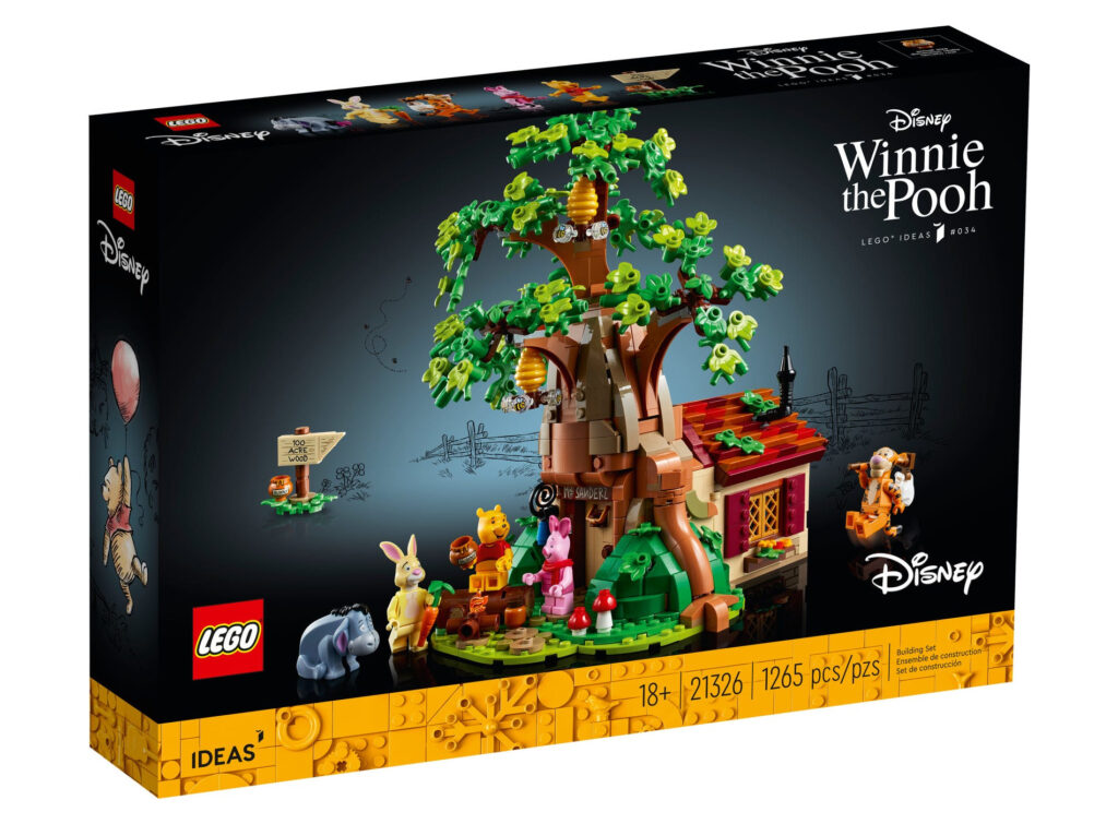 LEGO Ideas 21326 Kubuś Puchatek - oferty