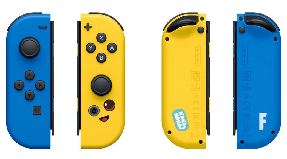 Nintendo Switch Joy-Con edycja Fortnite
