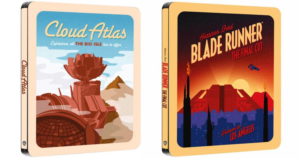 Destination Series - Steelbooki z filmami Łowca Androidów i Atlas chmur