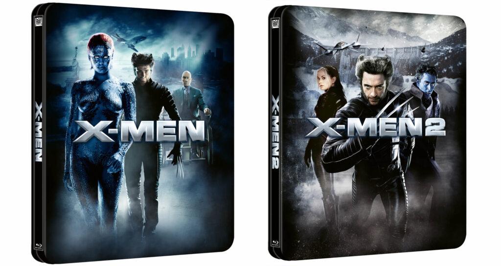 Steelbooki z X-men i X-men 2
