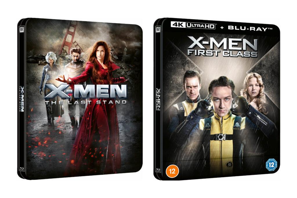 Steelbooki z X-Men: Ostatni bastion oraz X-Men: Pierwsza klasa