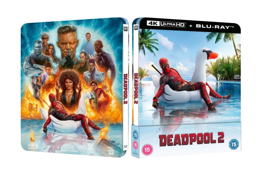 Marvel's Deadpool 2 4K Steelbook