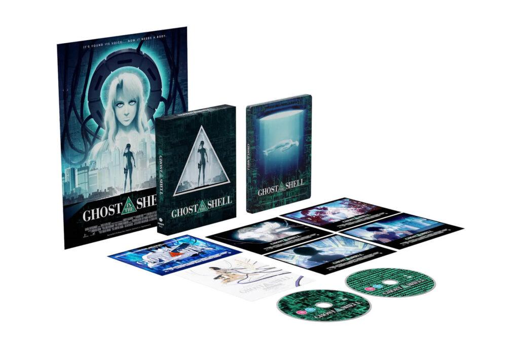 Ghost In The Shell 4K Steelbook