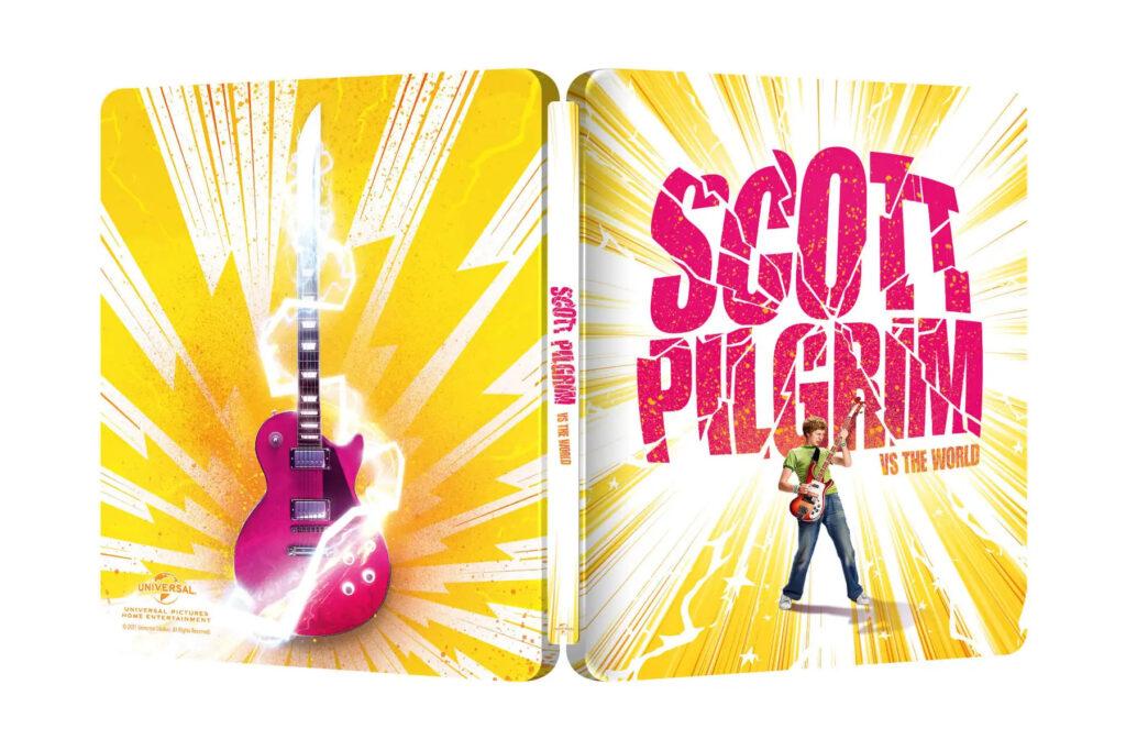 Scott Pilgrim kontra świat 4K Steelbook