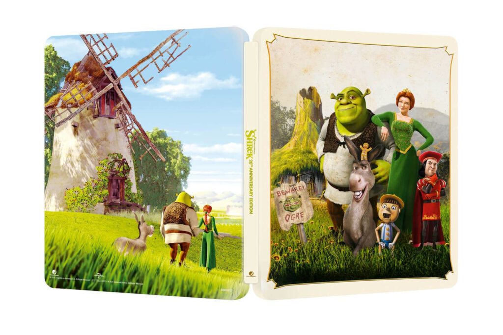 Shrek 4K Steelbook