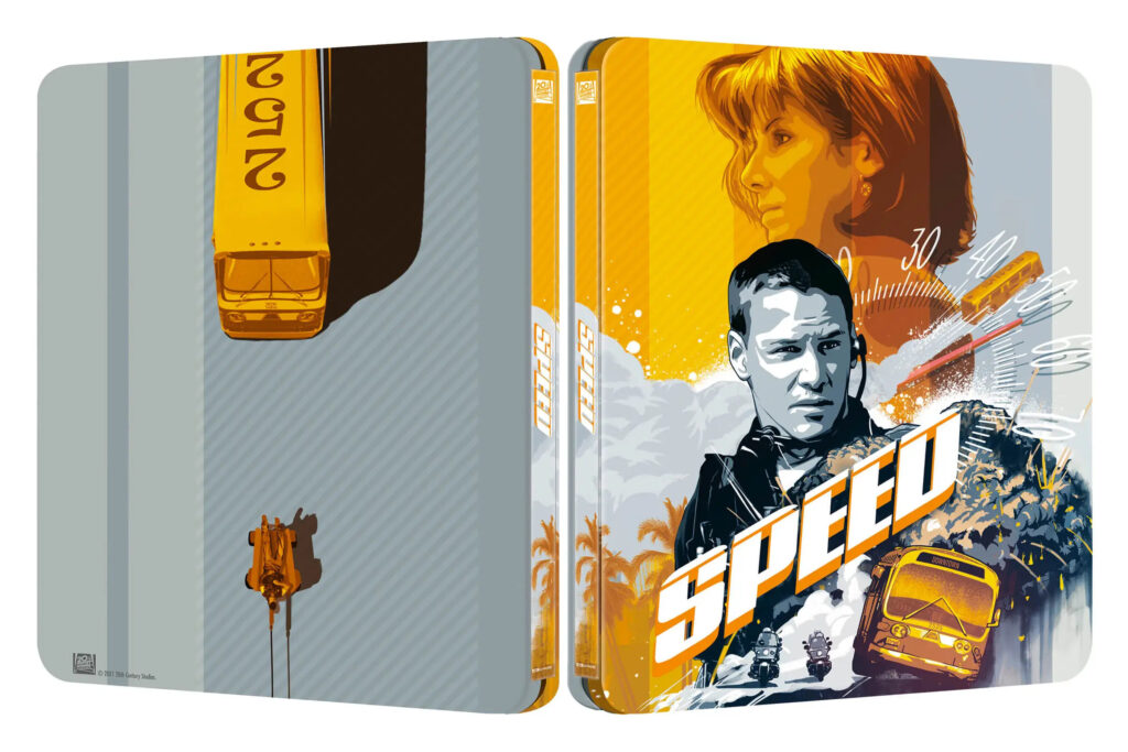 Speed: Niebezpieczna prędkość 4K Steelbook