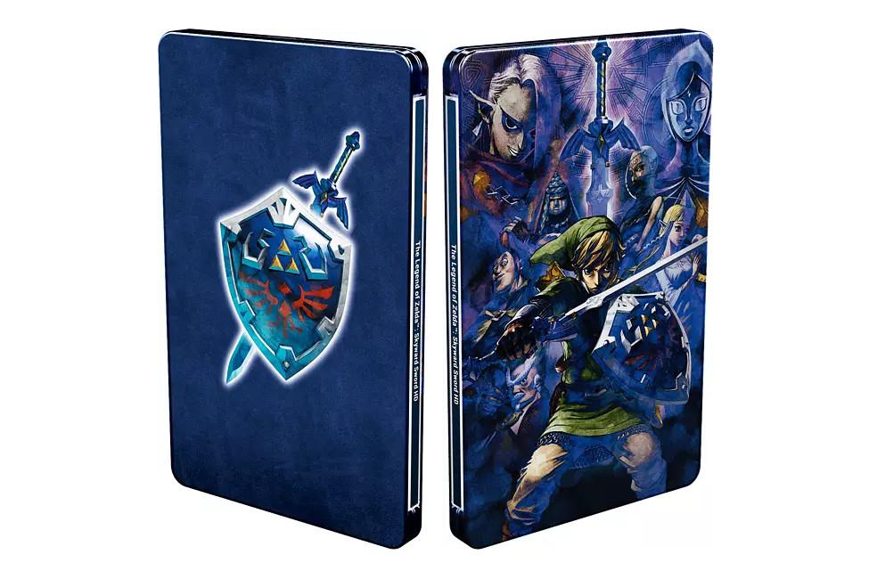 The Legend of Zelda Skyward Sword HD Steelbook