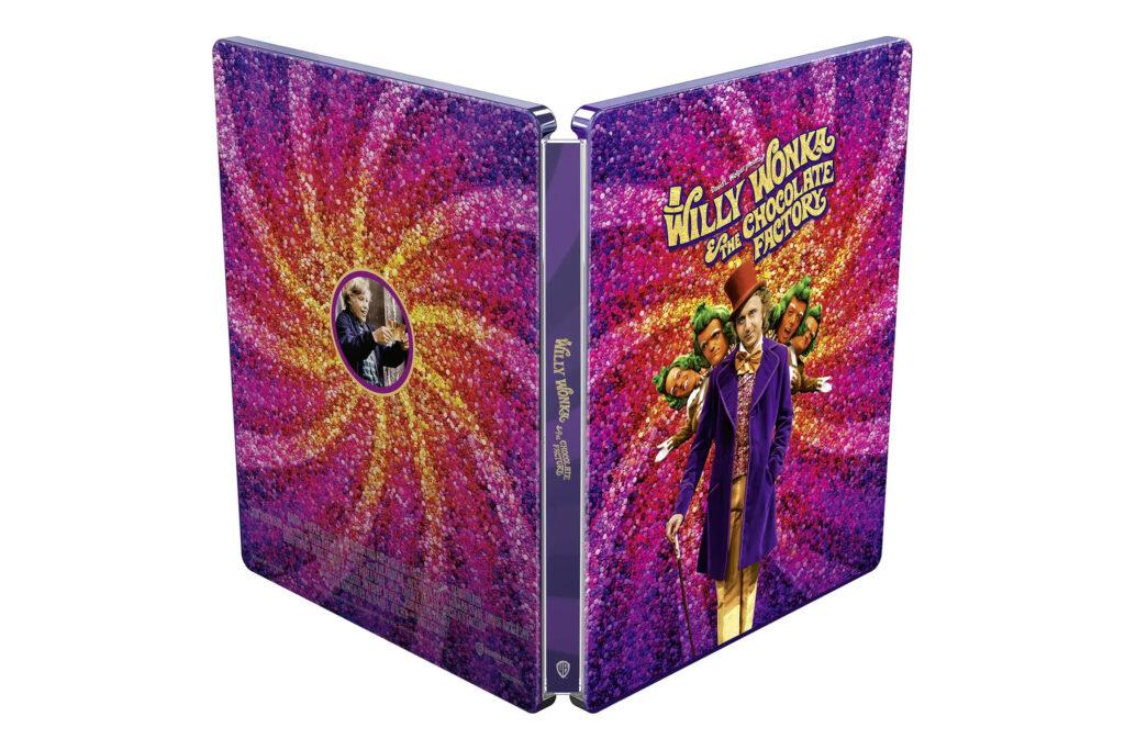 Willy Wonka i fabryka czekolady 4K Steelbook