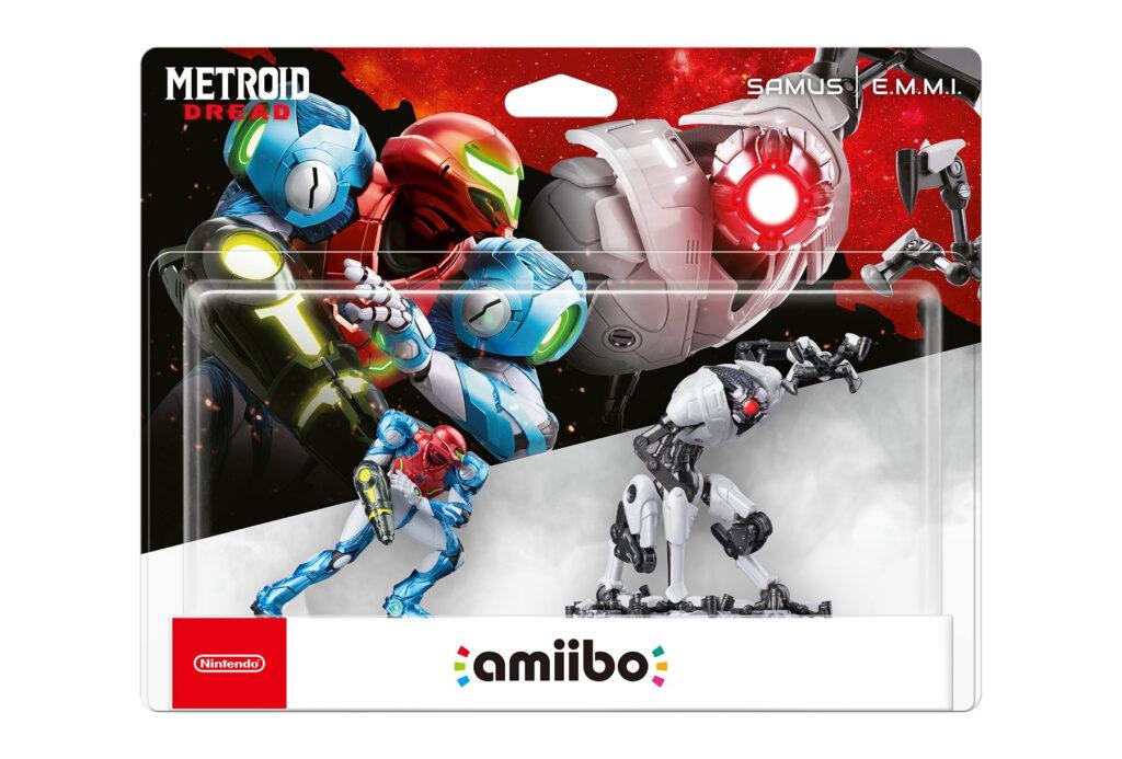 Amiibo Metroid: Dread Samus i E.M.M.I.