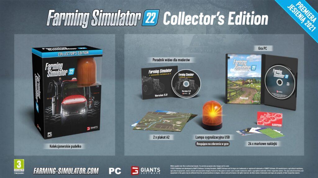 Farming Simulator 22 Edycja Kolekcjonerska