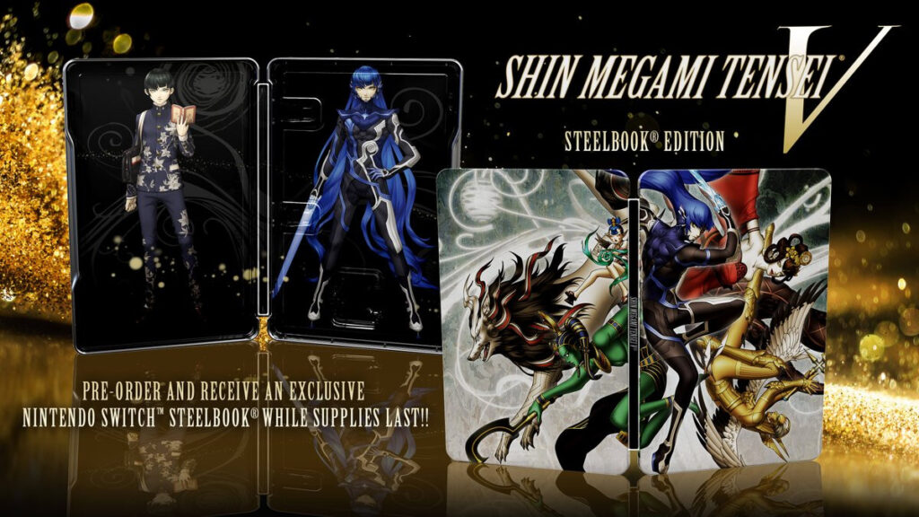 Shin Megami Tensei V Steelbook